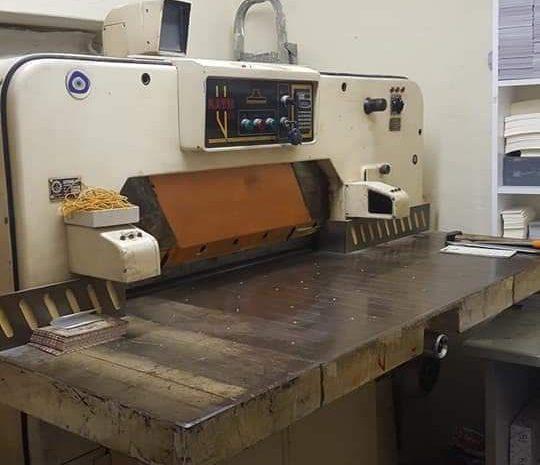 ikinci el matbaa makinesi 100 arma 2 no maşalı ürün kaliteli sağlam makine