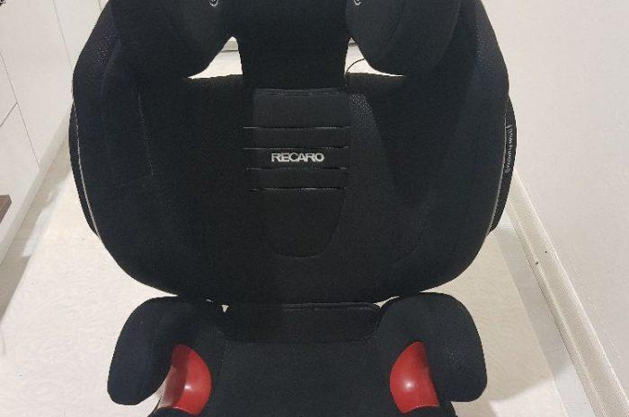 Recaro monza çocuk oto koltuğu 3 kademeli yatışa uygun