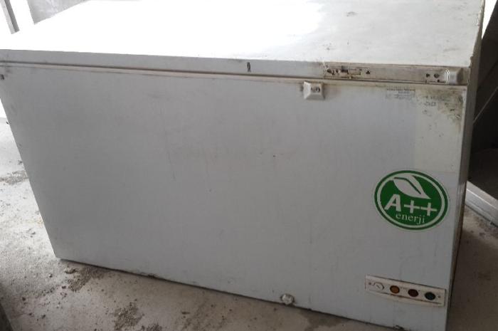 Kullanılmış A++ uğur derin dondurucu 500 litre